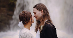 Auckland boho wedding video